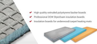 Prowarm Underfloor Heating Insulation Boards