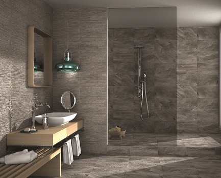 Bathroom Tiles Tile Giant - Grey-bathroom-wall-tile