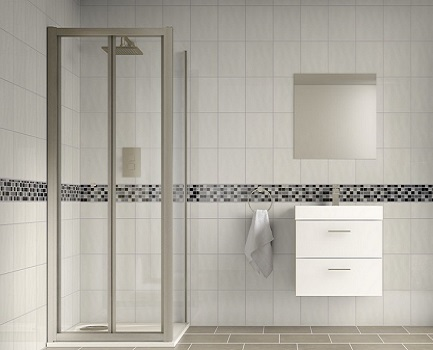 bumpy white bathroom tiles bathroom tiles tile 17563 | reflection bumpy white bathroom wall tile