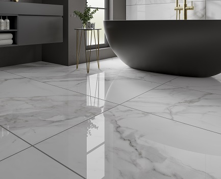 Sofia Marble Effect Floor Tile