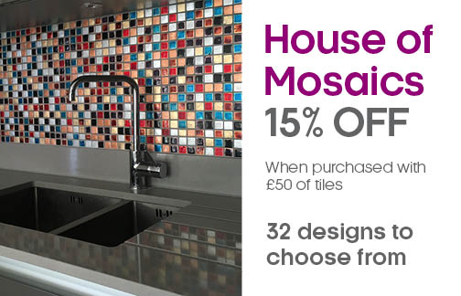 15% off Selected Mosaics