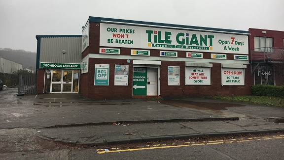 Tile Giant Cardiff Store