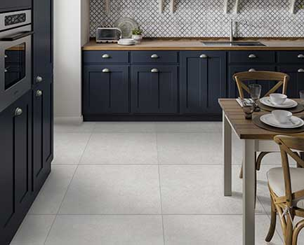 Dover White Kitchen Tiles
