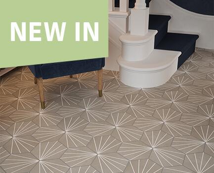 Alexa Hex™ Floor Tile