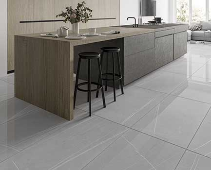 Pedra Large Format Marble Effect Tile