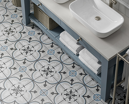 Adorne Bathroom Floor Tile