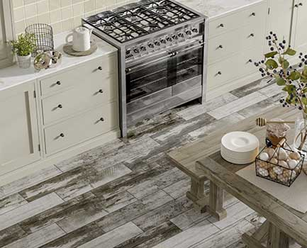 Puzzlewood Wood Effect Kitchen Tiles