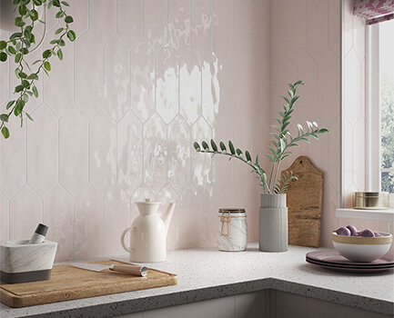 Picket Kitchen Wall Tile