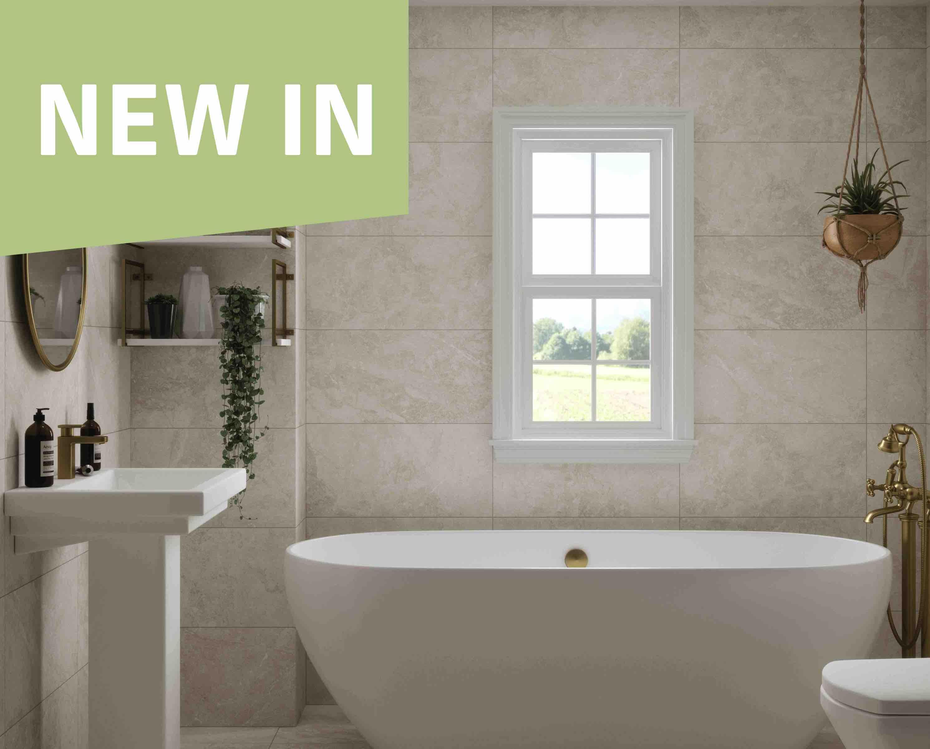 Titanium Bathroom Tile