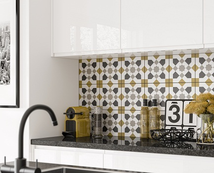 Adorne Kitchen Wall Tile