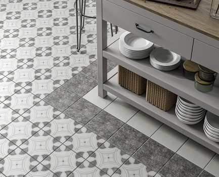 Chatsworth Patterned Floor Tile