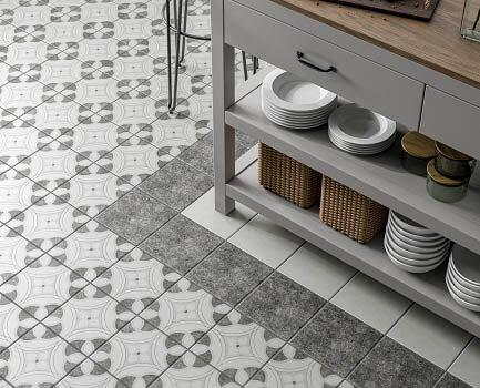 Chatsworth Patterned Floor Tile