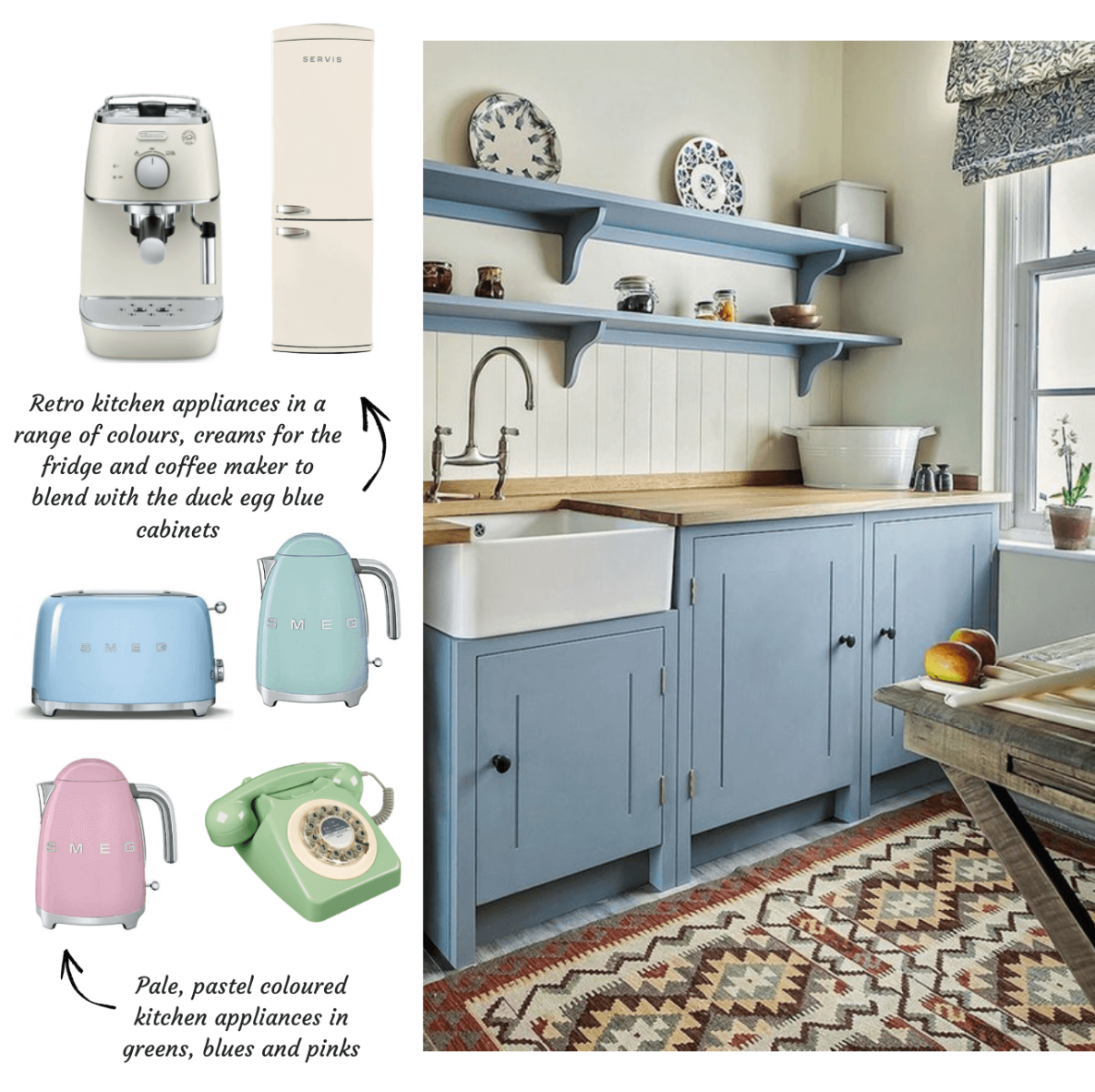 Pastel Kitchen Accessories for your home