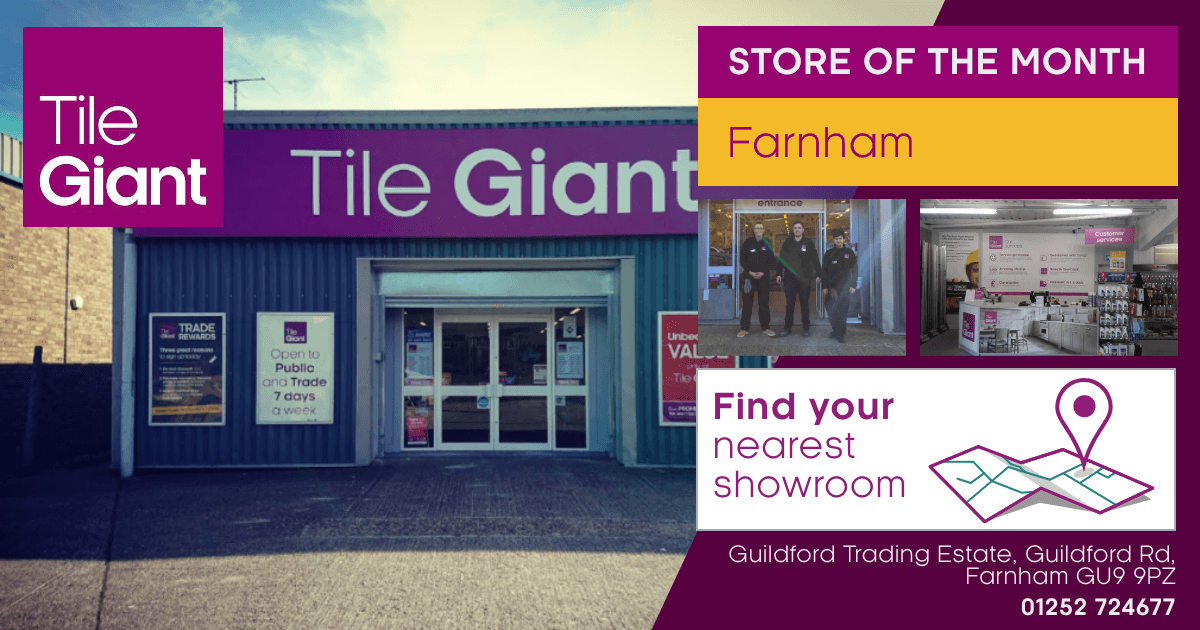 Tile Giant store in Farnham