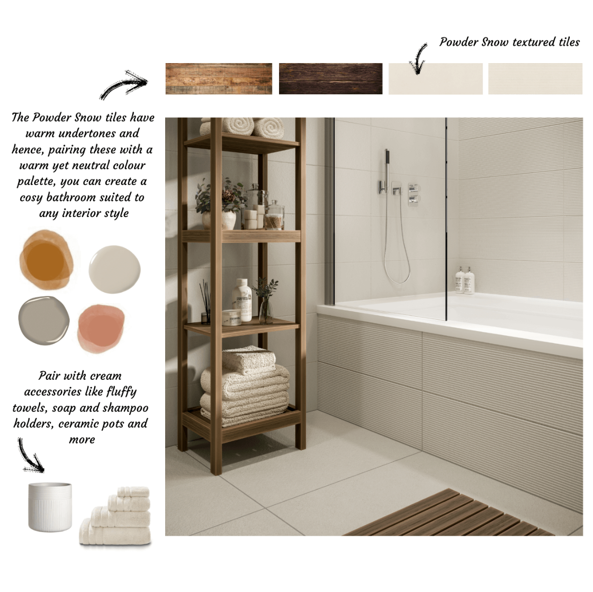 Guide to Neutral Bathrooms From Tile Giant Cosy