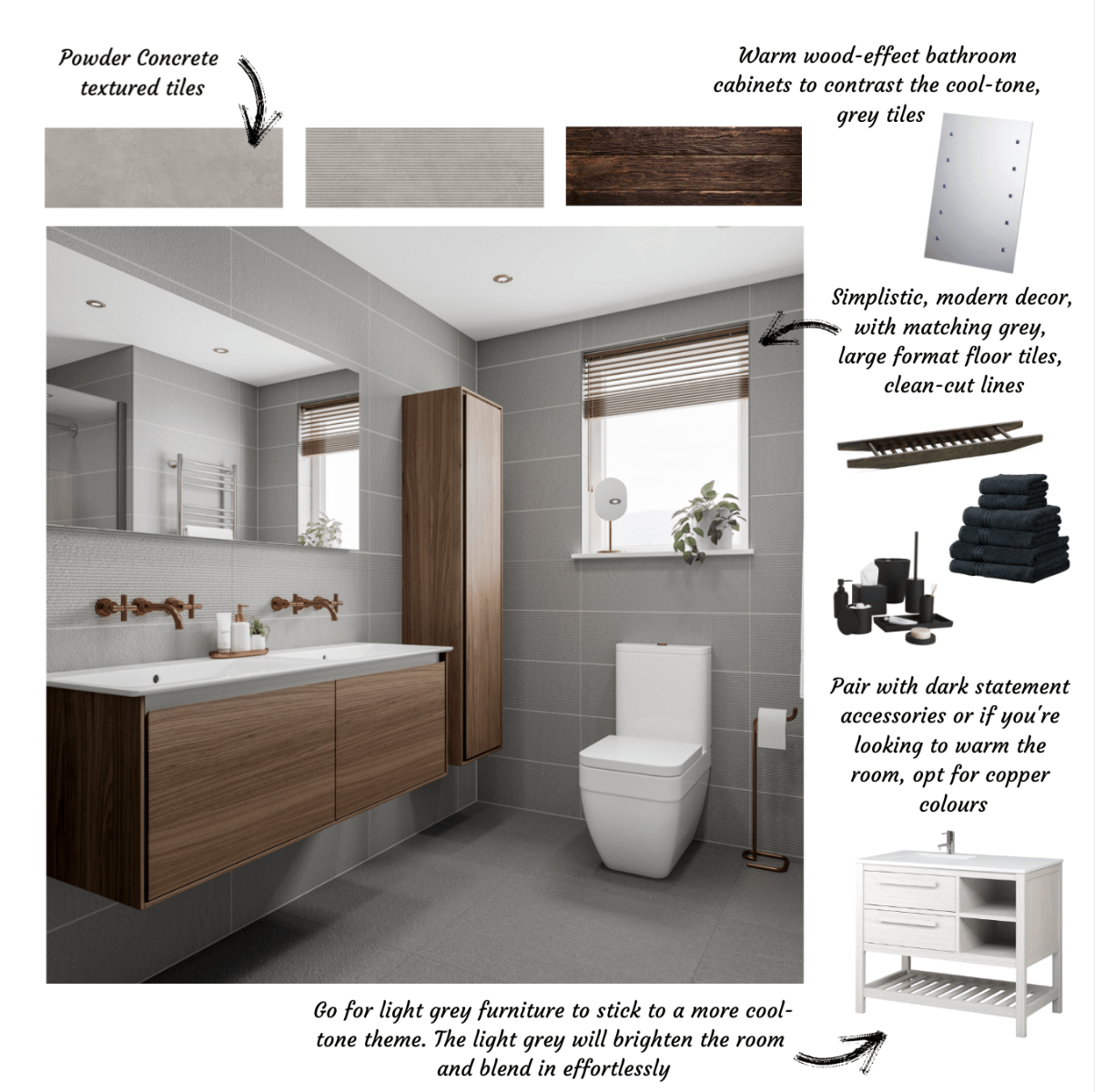 Guide to Neutral Bathrooms From Tile Giant Industrial