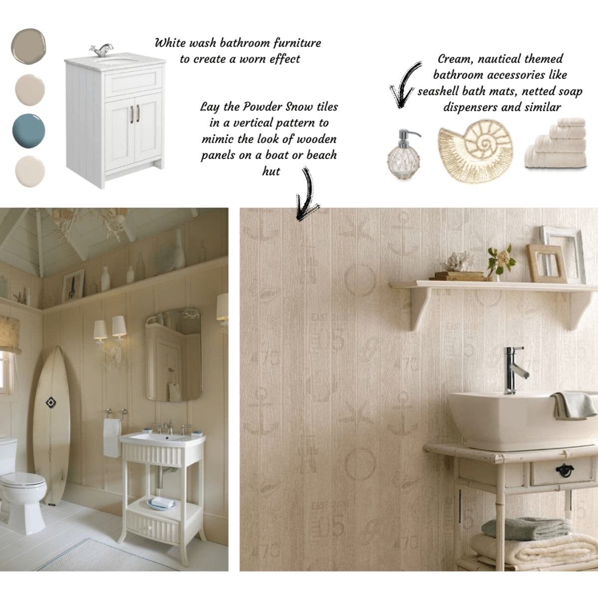 Guide to Neutral Bathrooms From Tile Giant Rustic 2