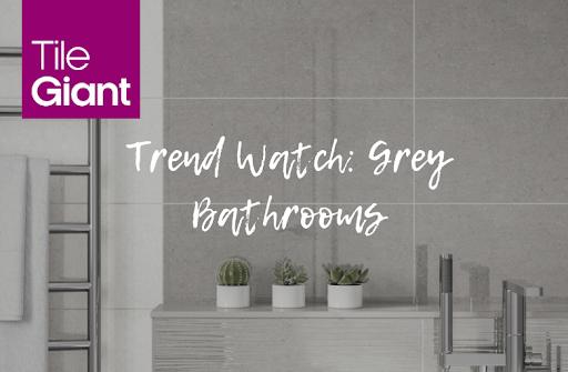 Trend Watch Grey Bathrooms Using Shoreline Tiles