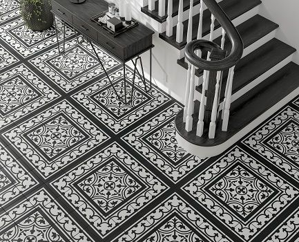 Pamplona Patterned Floor Tile