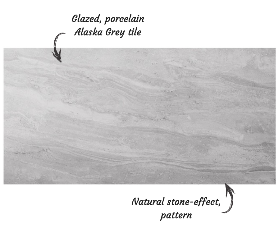 Alaska Grey Tile Features from Tile Giant