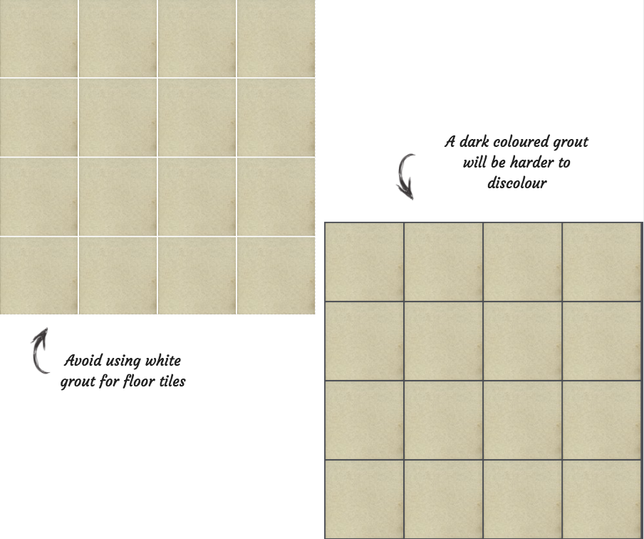 Gradino Beige Porcelain Wall and Floor Tile Grout