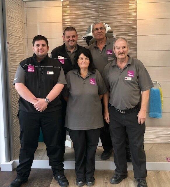Lincoln Tile Giant Team