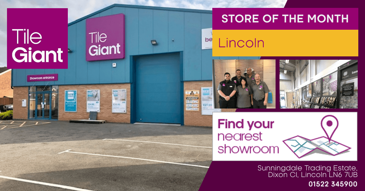 Tile Giant Store of the Month Lincoln