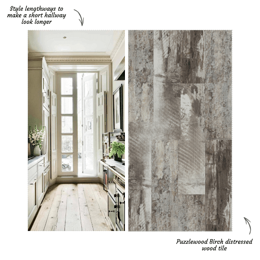 Styling Puzzlewood Taupe Tiles