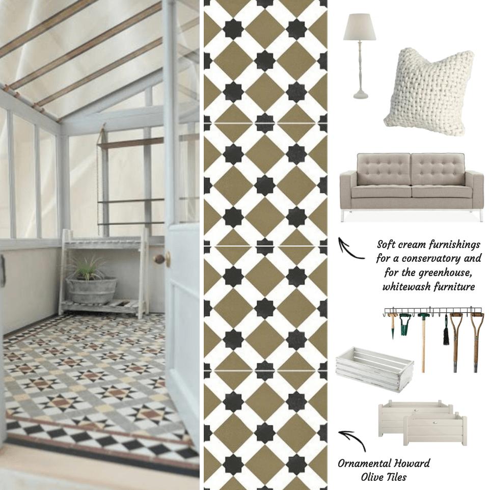 Ornamental Howard Tiles from Tile Giant
