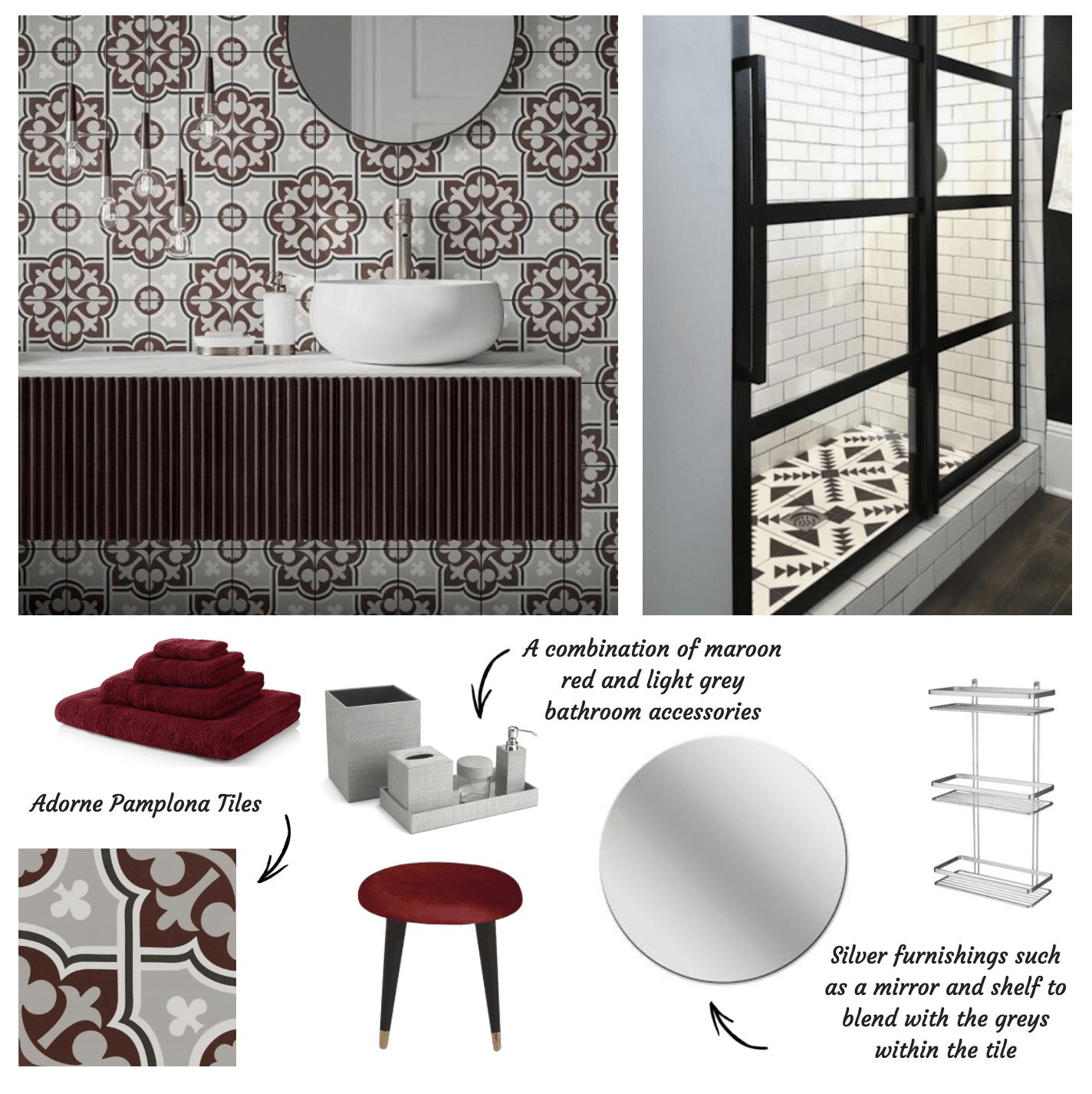 Adorne Pamplona Tiles from Tile Giant