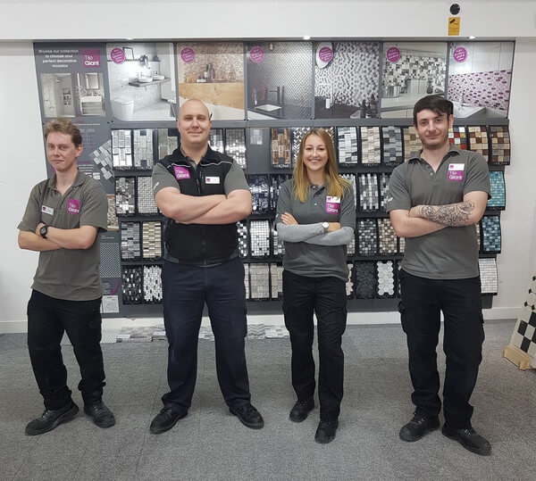 Tile Giant Hereford in Store Team