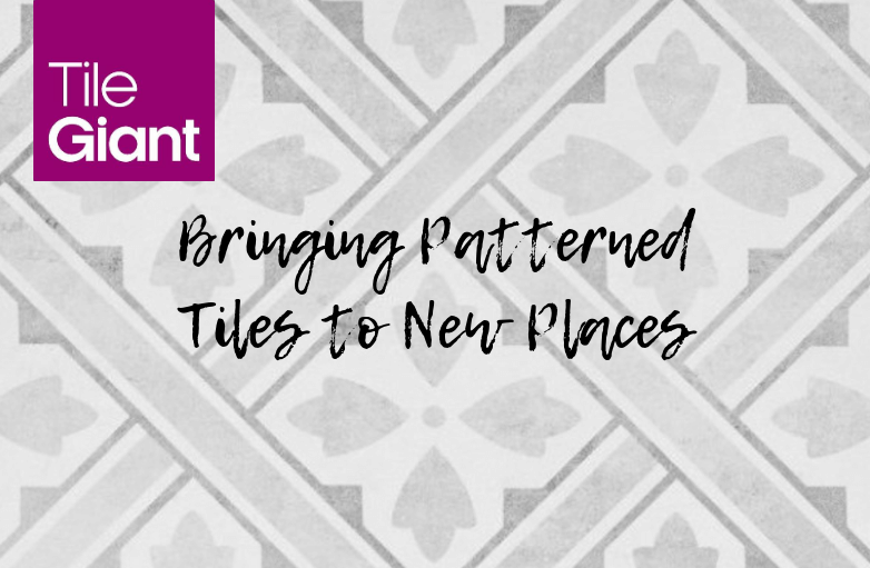 How To Bring Patterned Tiles Into New Places