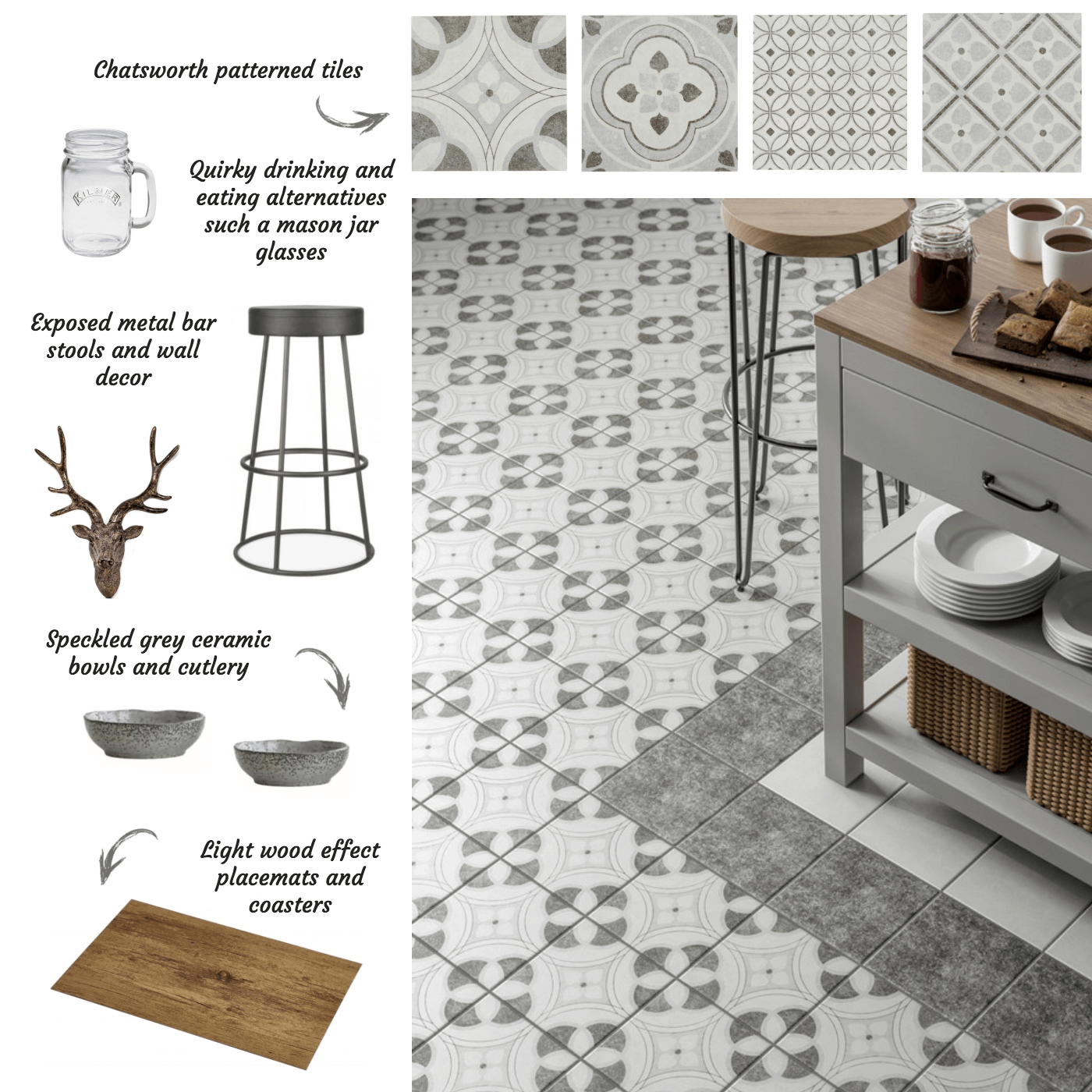 Chatsworth Patterned Tiles