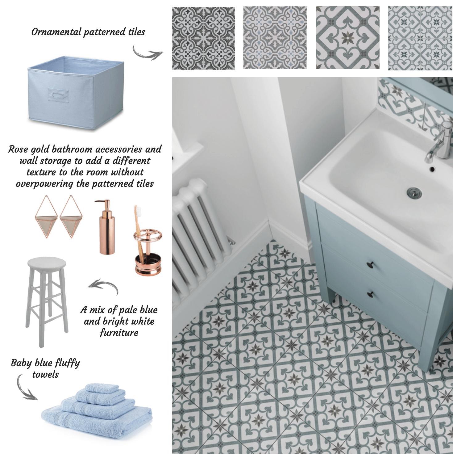 Ornamental Patterned Tiles