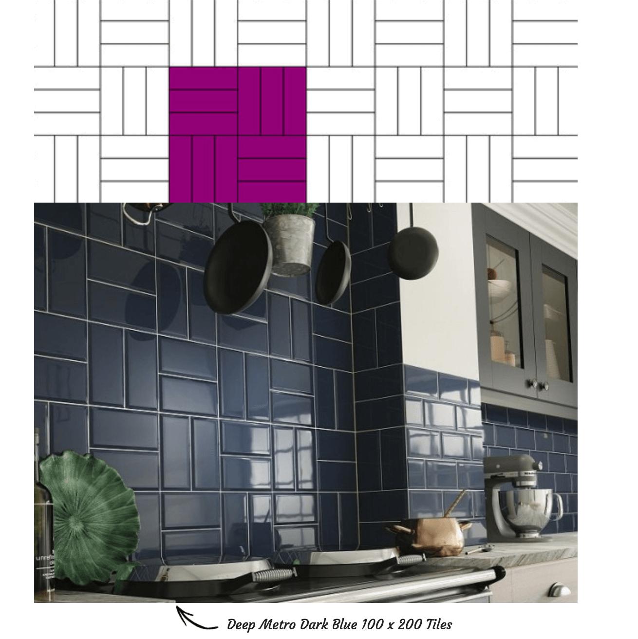 Basket Weave Tile Pattern
