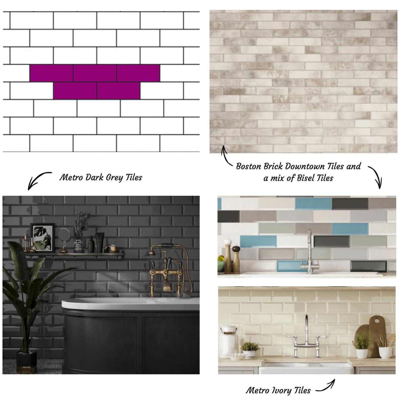 Brick Bond Tile Pattern