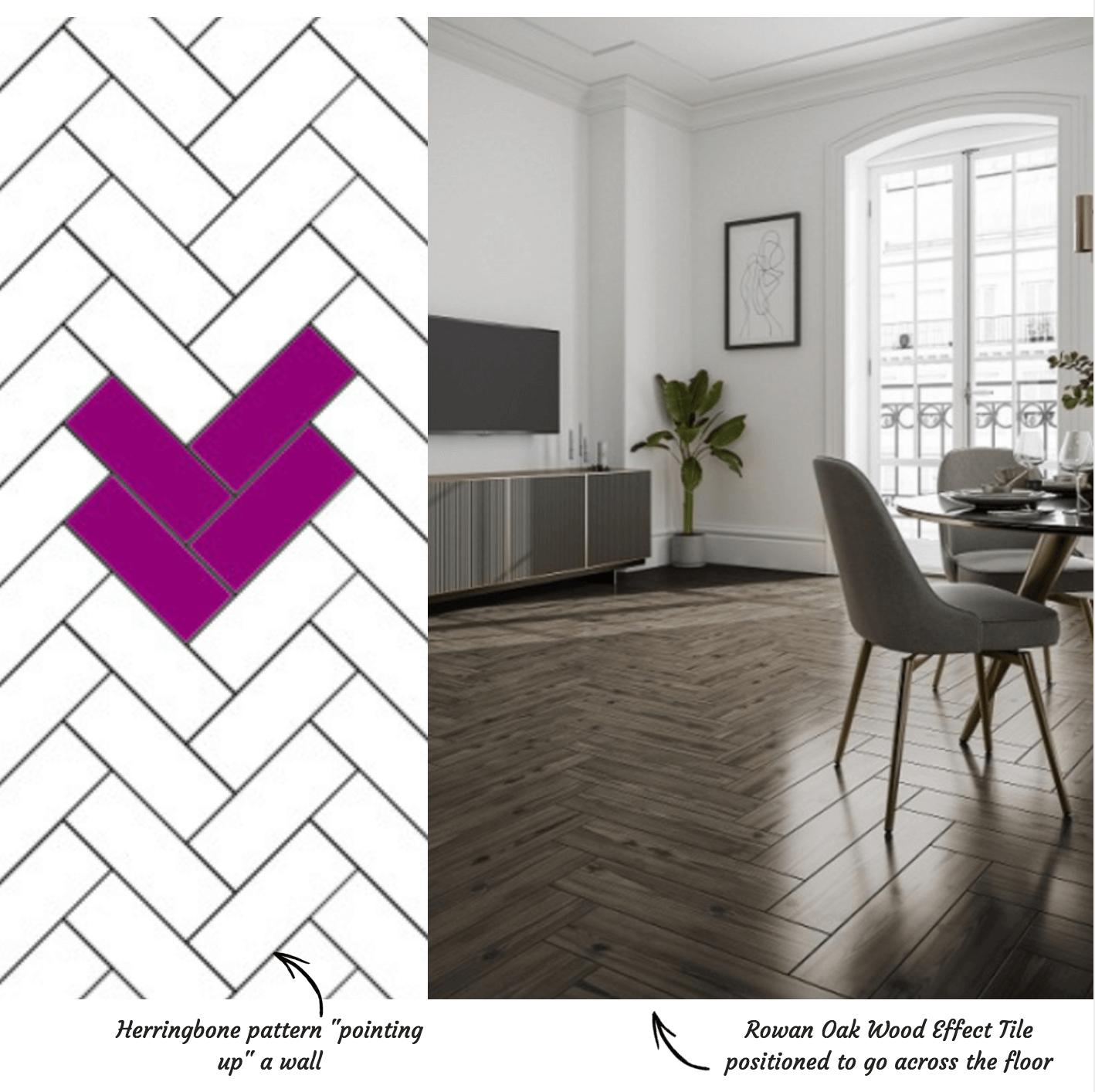 Herringbone Tile Pattern