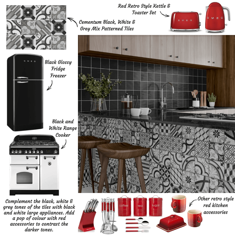 Styling Cementum Tiles With A Modern Twist