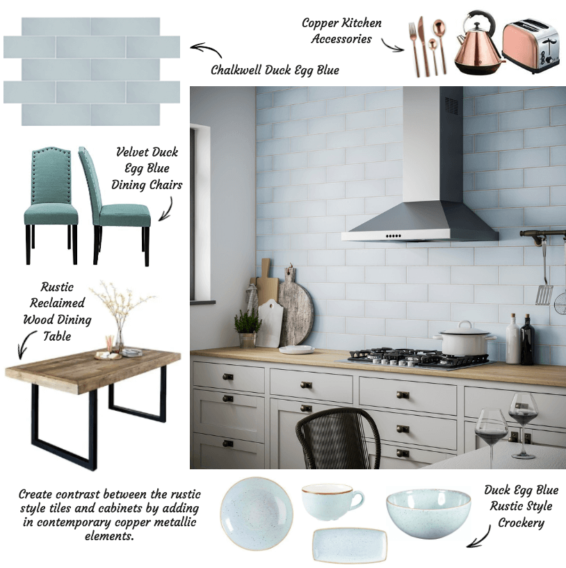 Styling Chalkwell Tiles With A Modern Twist