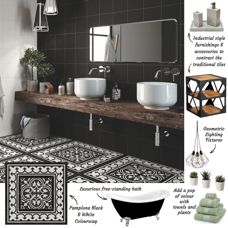 Styling Pamplona Tiles With A Modern Twist