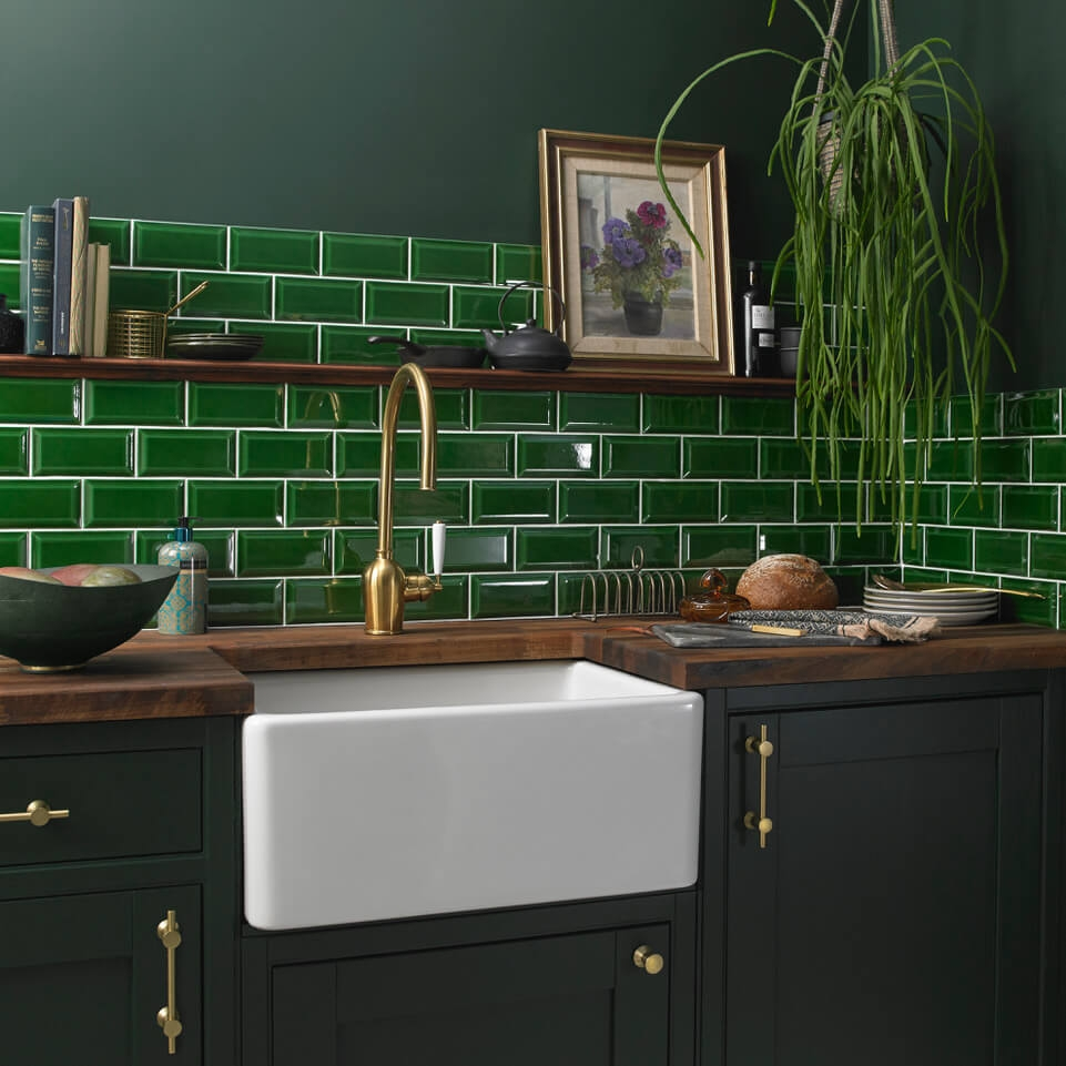 Bevel Green Victoria Baths range from Tile Giant
