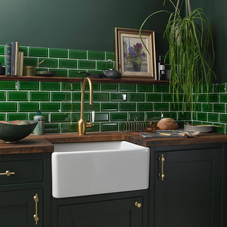 Bevel Green Victoria Baths range from Tile Giant